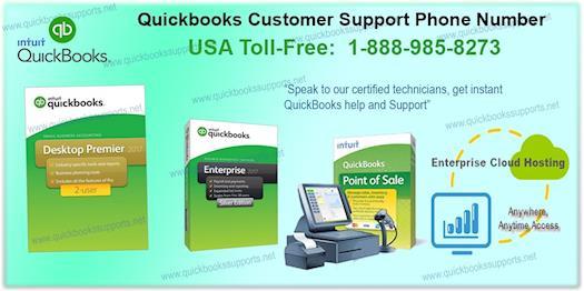Quickbooks Customer Support Phone Number 1-888-985-8273