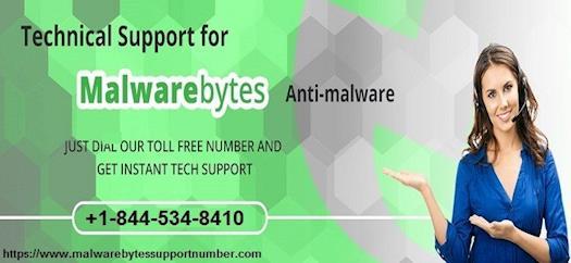 Malwarebytes Tech Support Number +1-844-534-8410
