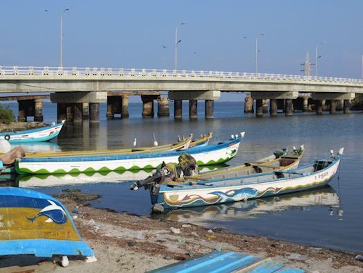 Mannar Island Bridge