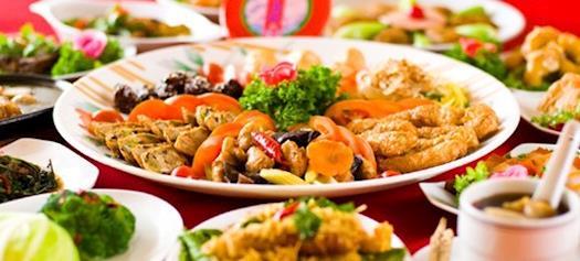 Best vegetarian food Tebrau