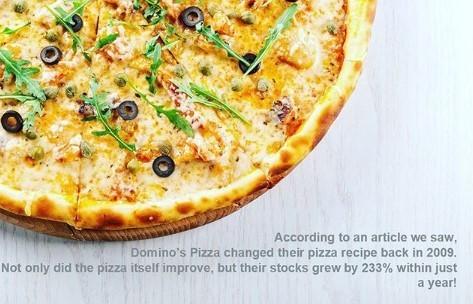 we all love domino's pizza right?