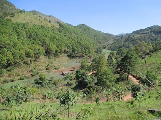 Hiking Myanmar