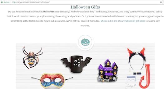 Get Halloween Gifts Ideas