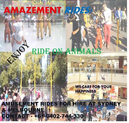 Amusement Rides at a Glance!
