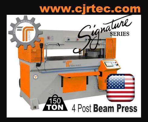 150 Ton 4 Post Beam Press