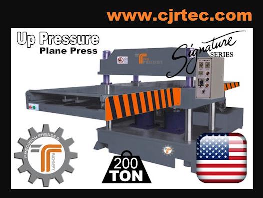 200 Ton Up Pressure Plane Press
