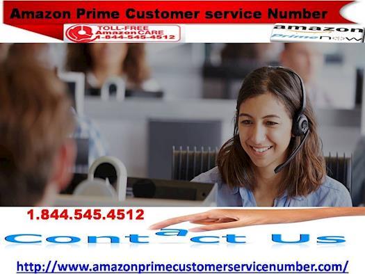 Amazon Prime Customer Service Number Explained 1-844-545- 4512
