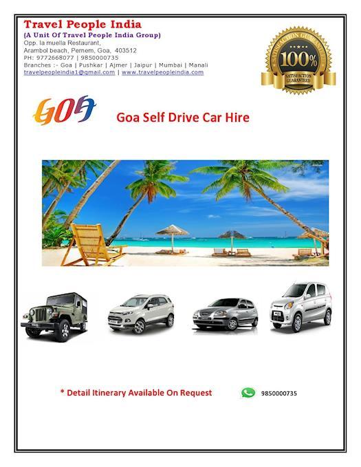 Goa Self Drive Car