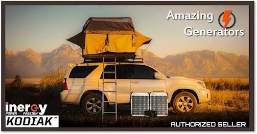 Inergy Kodiak 1,100W Portable Solar Generator + $50 Amazon Gift Card