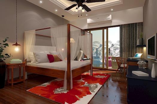 Resort Living Look   Master Bedroom