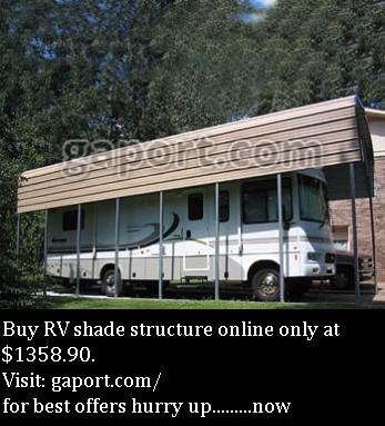 Shop RV Shade Structure in Georgia