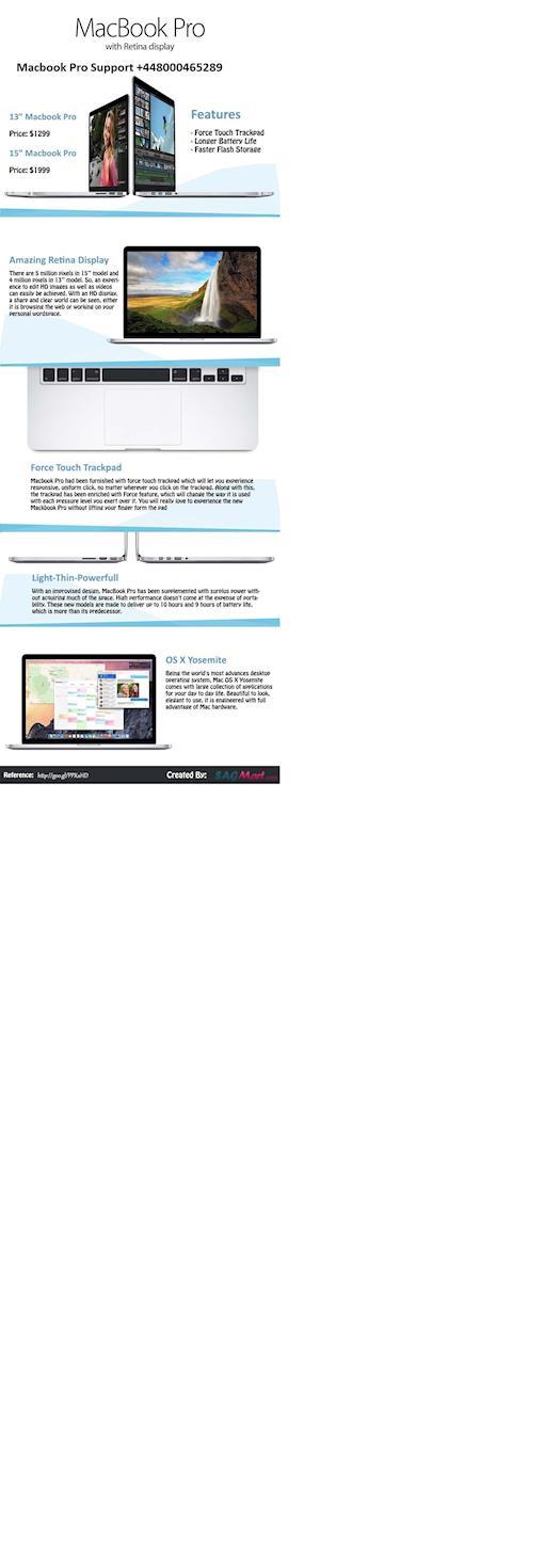 Macbook Pro with Retina Display Macbook Pro Support +448000465289