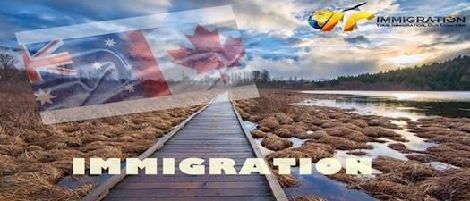Canada and Australia Immigration   PR Visa