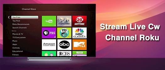 Watch CW Channel On Roku