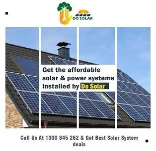 Get Best Solar System Deals From Do Solar