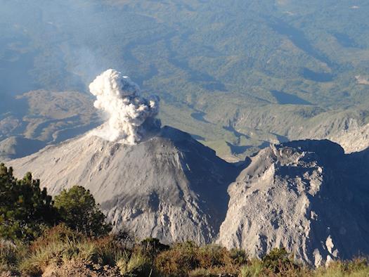 Volcano Santiaguito, Quetzaltenango