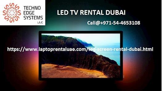 Techno Edge Systems as a Potential LED TV Rental provider in Dubai