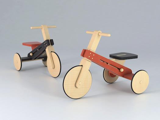 Wooden trikes