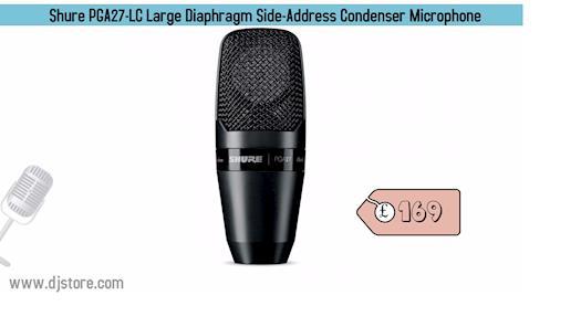 Shure PGA27-LC Large Diaphragm Side-Address Condenser Microphone