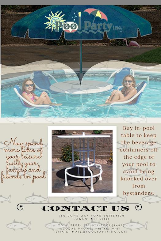 pool furniture table