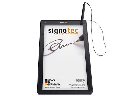 signature pad Alpha