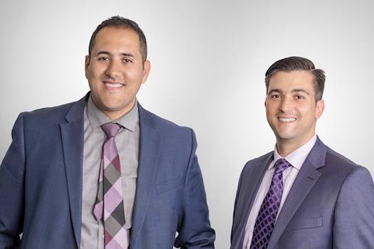Issam Azzouggagh and Peter Balatidis