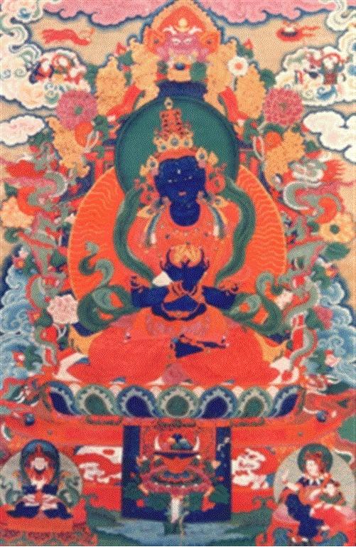 Buddha Naropa is an Indian Scholar Saint