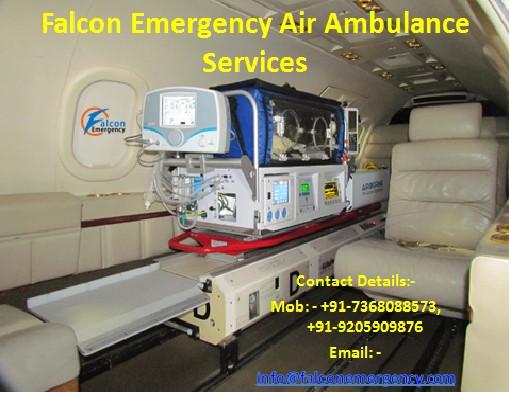 Air Ambulance Service for Patient Transfer in Patna and Kolkata