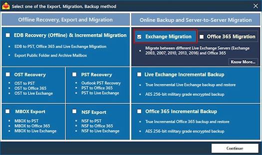Exchange Server 2010 to 2016 Migration