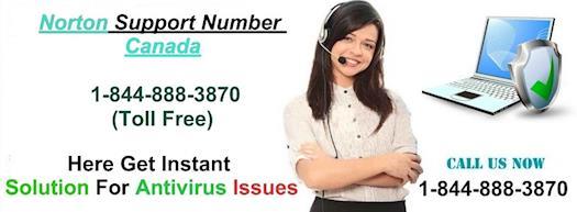 Norton Phone Number Canada 1-844-888-3870