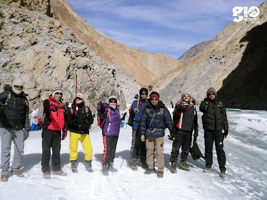 Chopta winter Trek - GIO Adventures