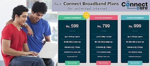 Connect Broadband Plans