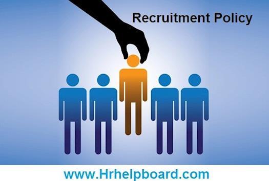 hrhelpboard recruitment policy