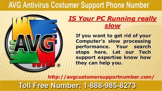 AVG Antivirus Costumer Support Phone Number 1-888-985-8273