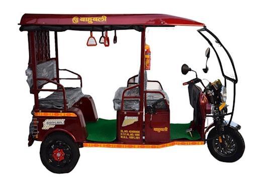 Bahubali E Rickshaw Manufacturer
