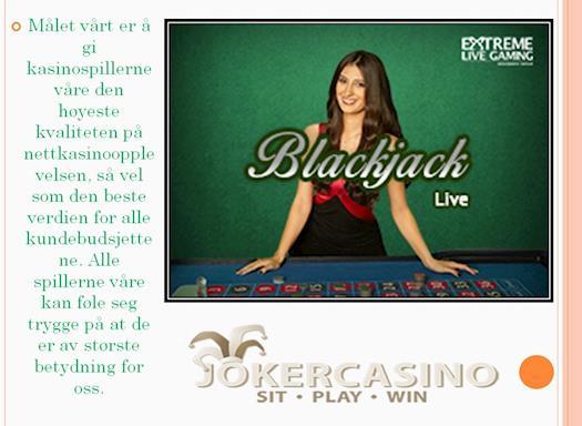 casino bonus, norsk kasino, , joker, kasino bonuser