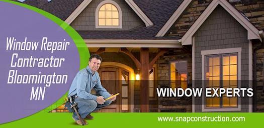 Window Repair contractor bloomington mn