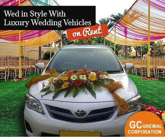 Luxury Wedding Car on Rent