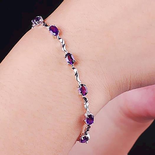Shop luxury 925 sterling silver bracelets in Canada