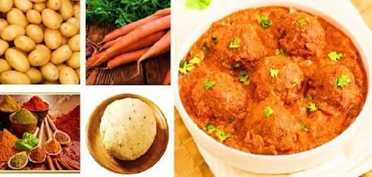 Vegetable Kofta Recipe - Natural vegetarian recipes