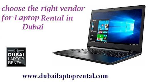 Laptop for Rent in Dubai - Lenovo,HP, Dell