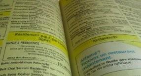 les pages jaunes