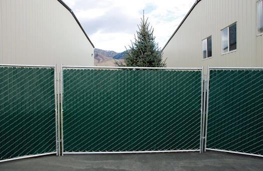 Green Privacy Slat Panels