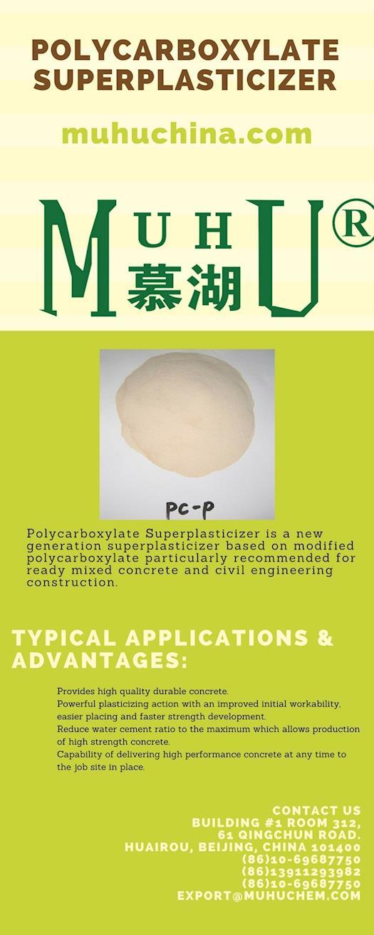 Polycarboxylate Superplasticizer