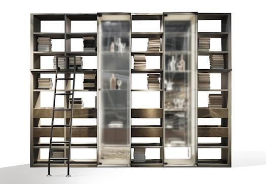 Bookcase Metropolis Evo