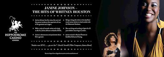 Janine Johnson – The Hits of Whitney Houston