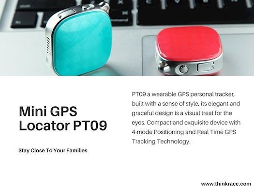 PT09 Personal Tracker – Pendant-type wearable GPS Tracker