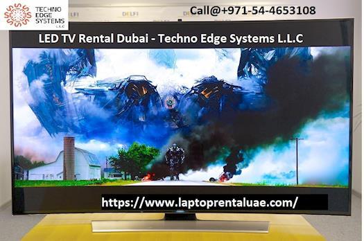 LED TV Rental in Dubai at Techno Edge Systems