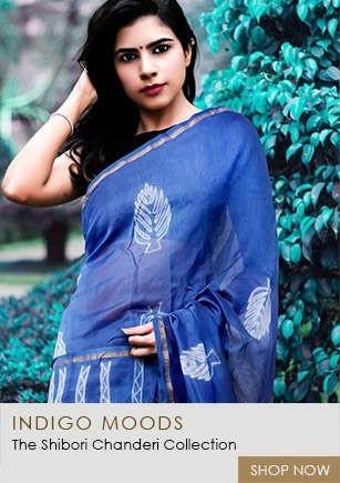 Latest Stylish Shibori Chanderi Collection