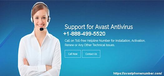 Avast Antivirus Customer Service Support Number +1-888-499-5520